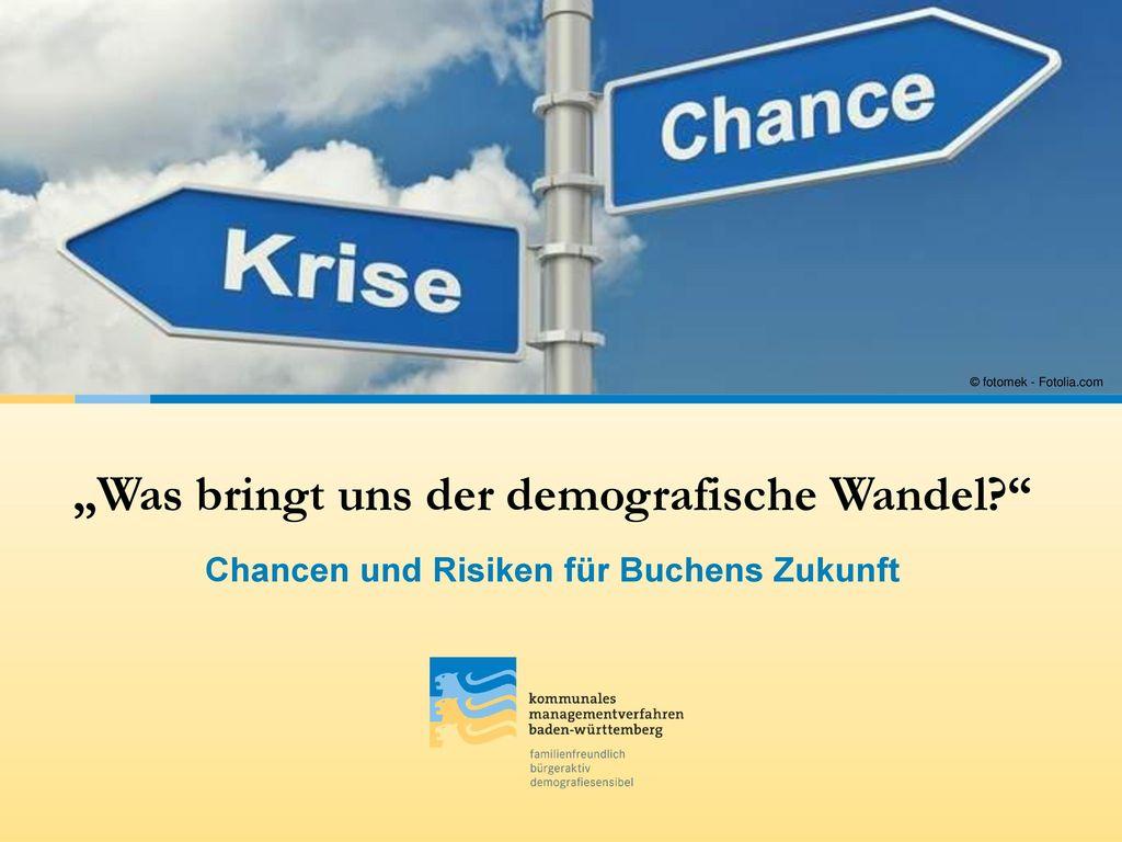 """""""Was bringt uns der demografische Wandel"""
