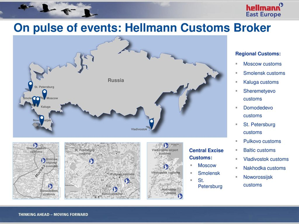 On pulse of events: Hellmann Customs Broker