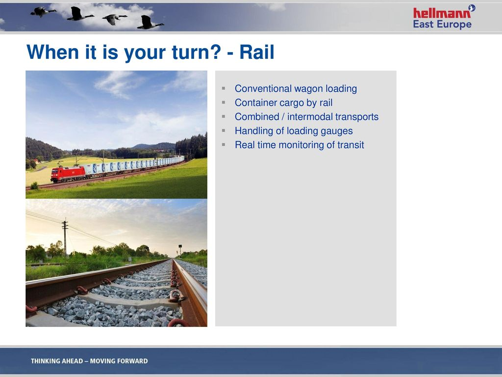 When it is your turn - Rail