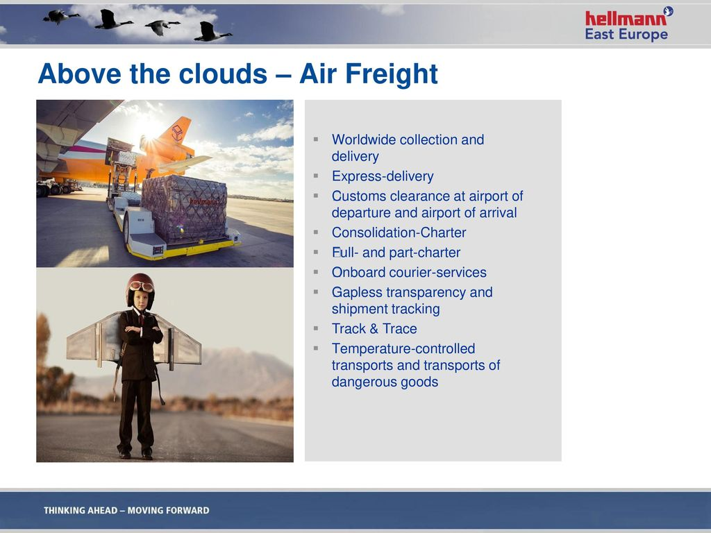 Above the clouds – Air Freight