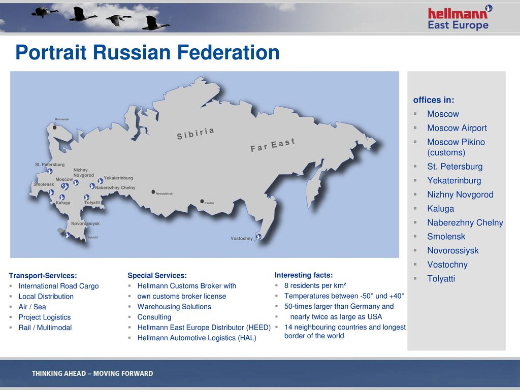 Portrait Russian Federation
