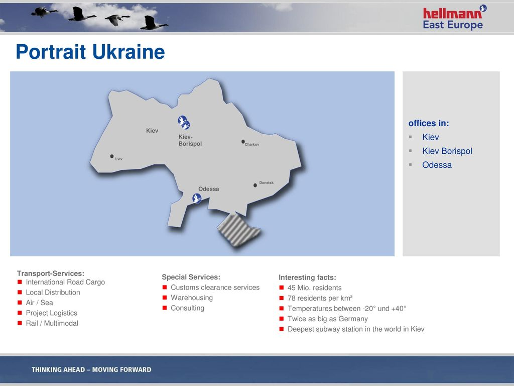 Portrait Ukraine offices in: Kiev Kiev Borispol Odessa