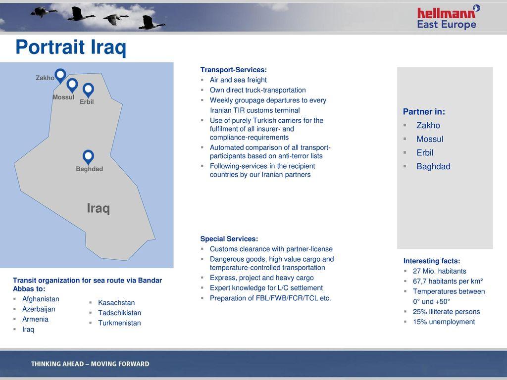 Portrait Iraq Iraq Partner in: Zakho Mossul Erbil Baghdad
