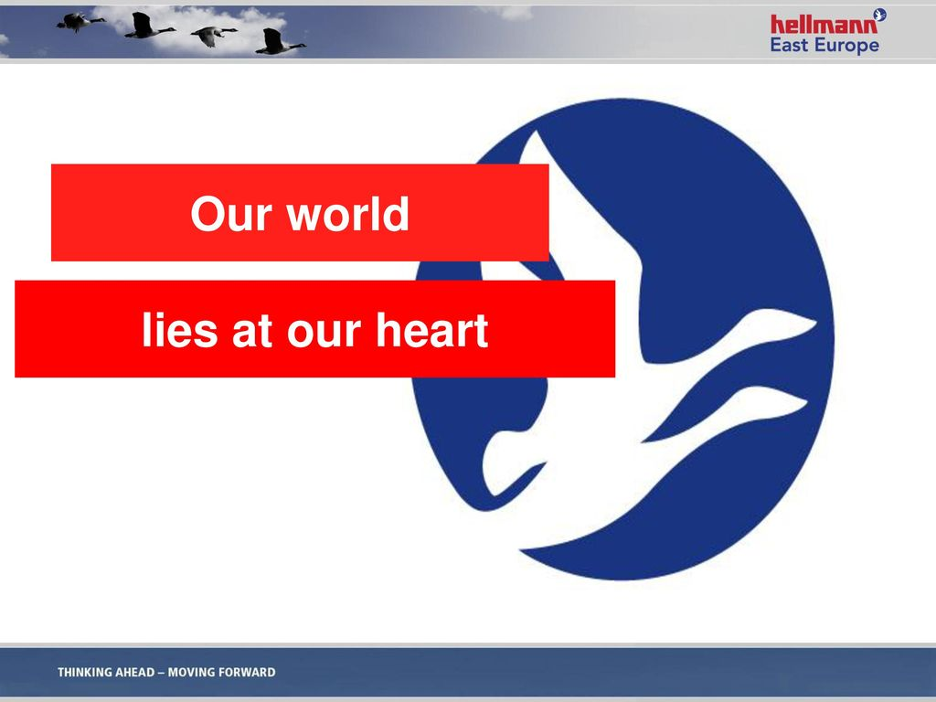 Our world lies at our heart