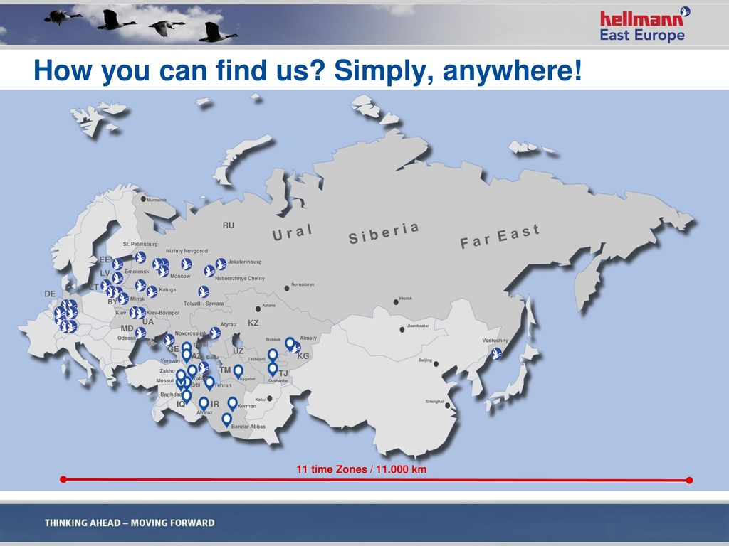 How you can find us Simply, anywhere!