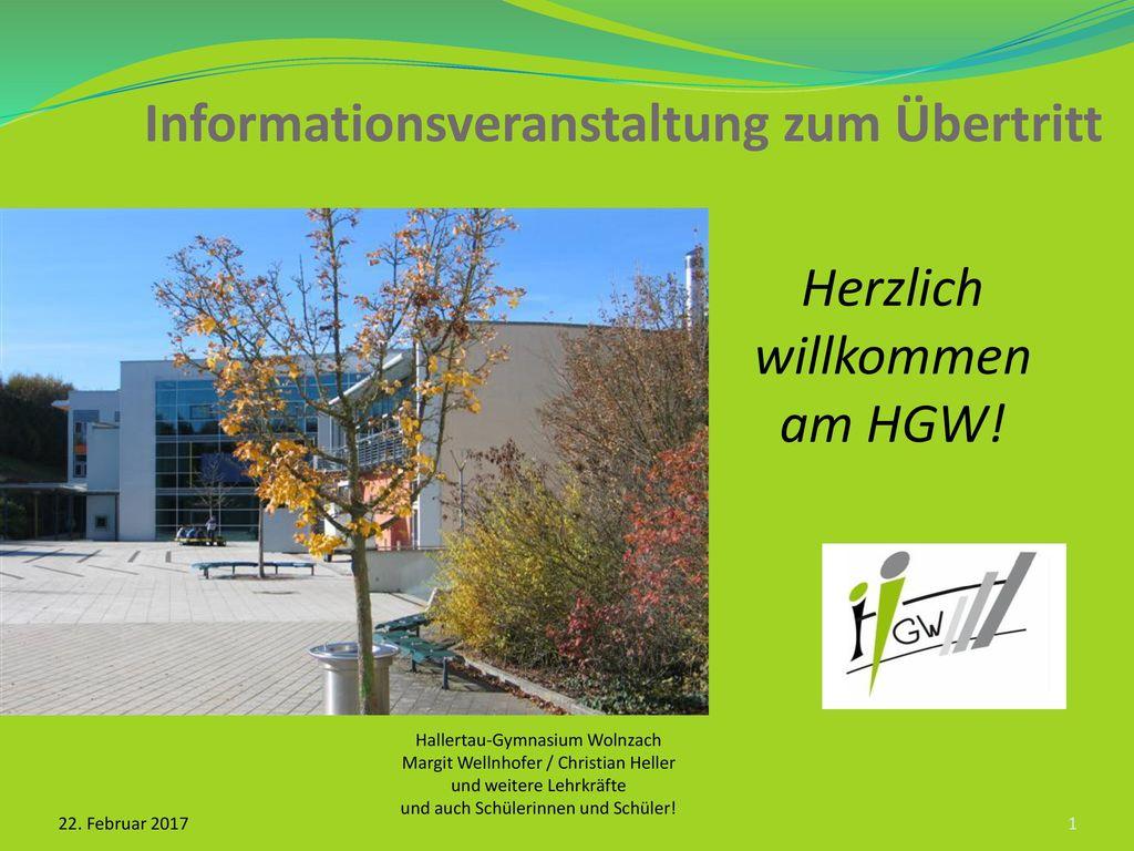 Informationsveranstaltung zum Übertritt
