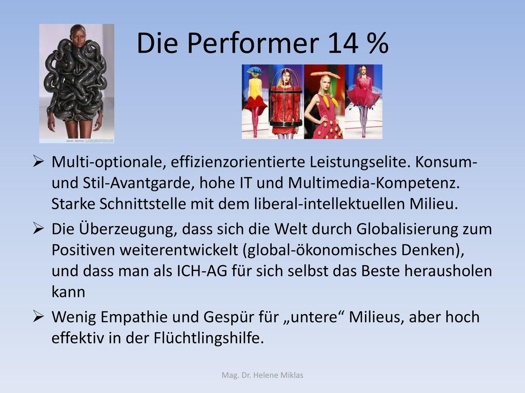 Die Performer 14 %