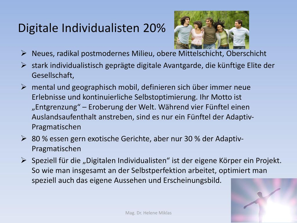 Digitale Individualisten 20%