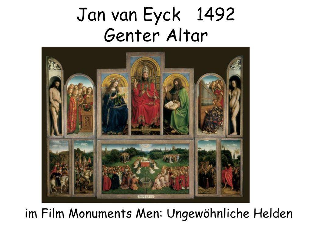 Jan van Eyck 1492 Genter Altar