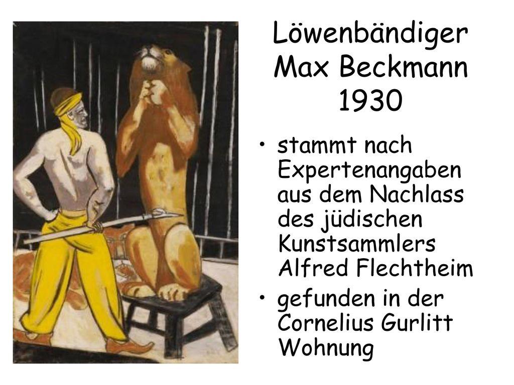 Löwenbändiger Max Beckmann 1930