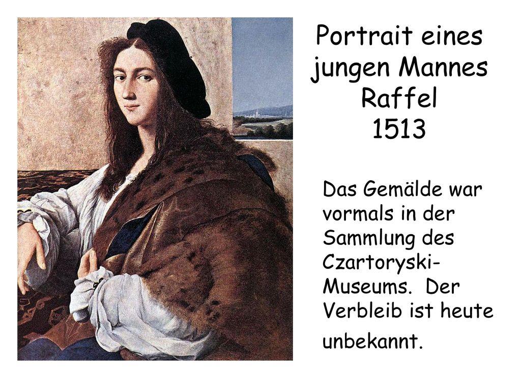 Portrait eines jungen Mannes Raffel 1513