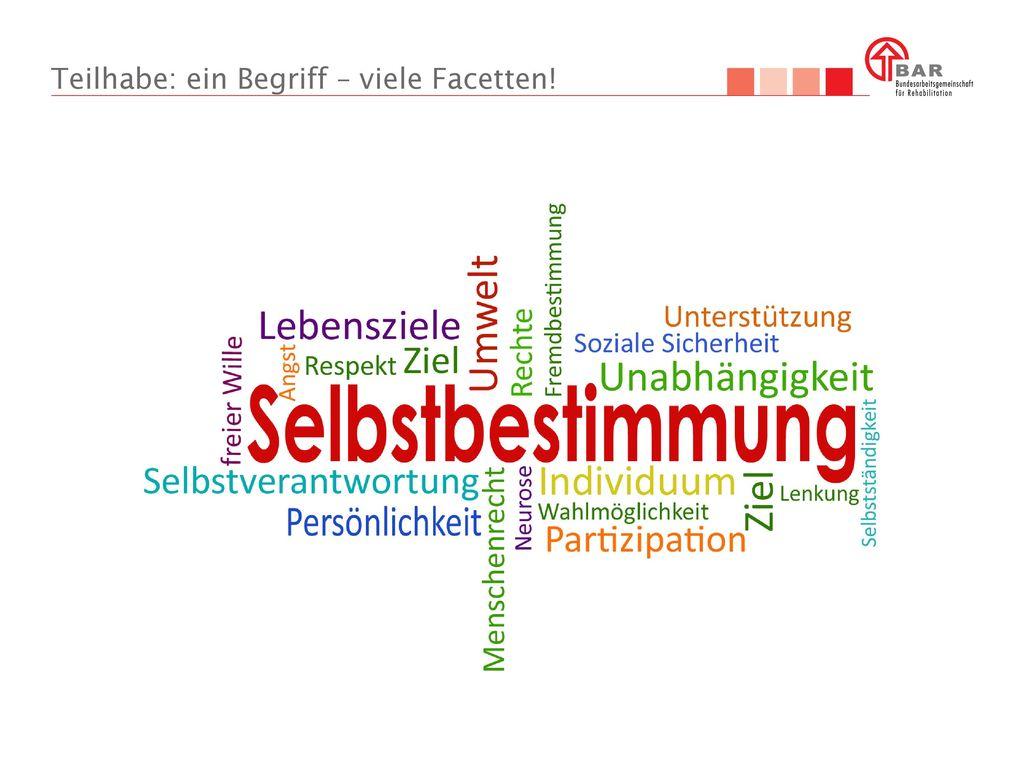 Teilhabe: ein Begriff – viele Facetten!
