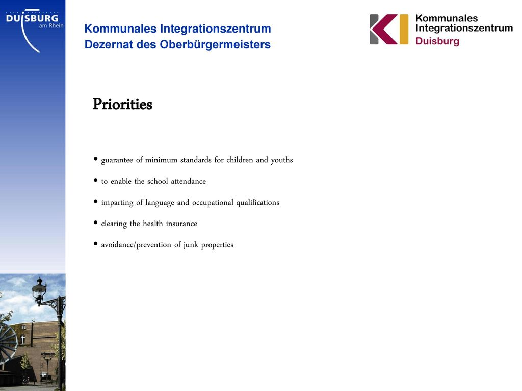 Priorities Kommunales Integrationszentrum