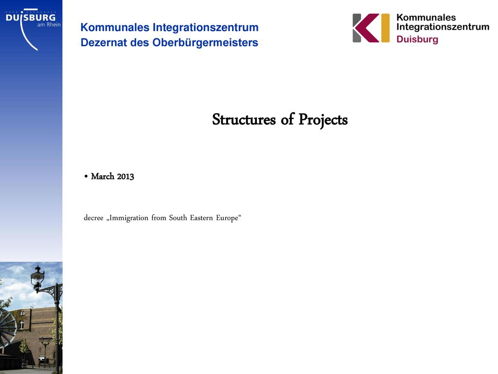 Structures of Projects