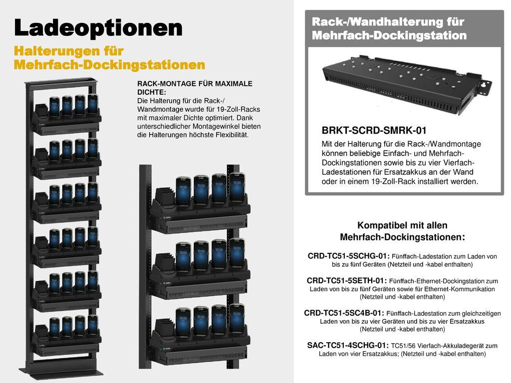 Kompatibel mit allen Mehrfach-Dockingstationen: