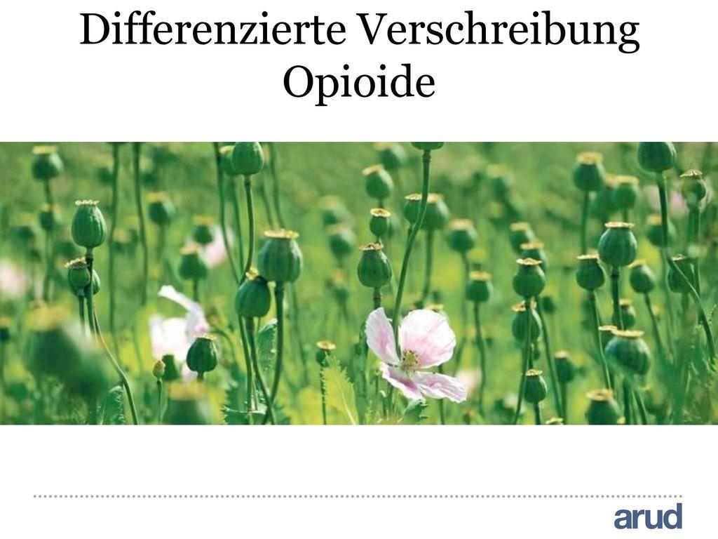 Differenzierte Verschreibung Opioide