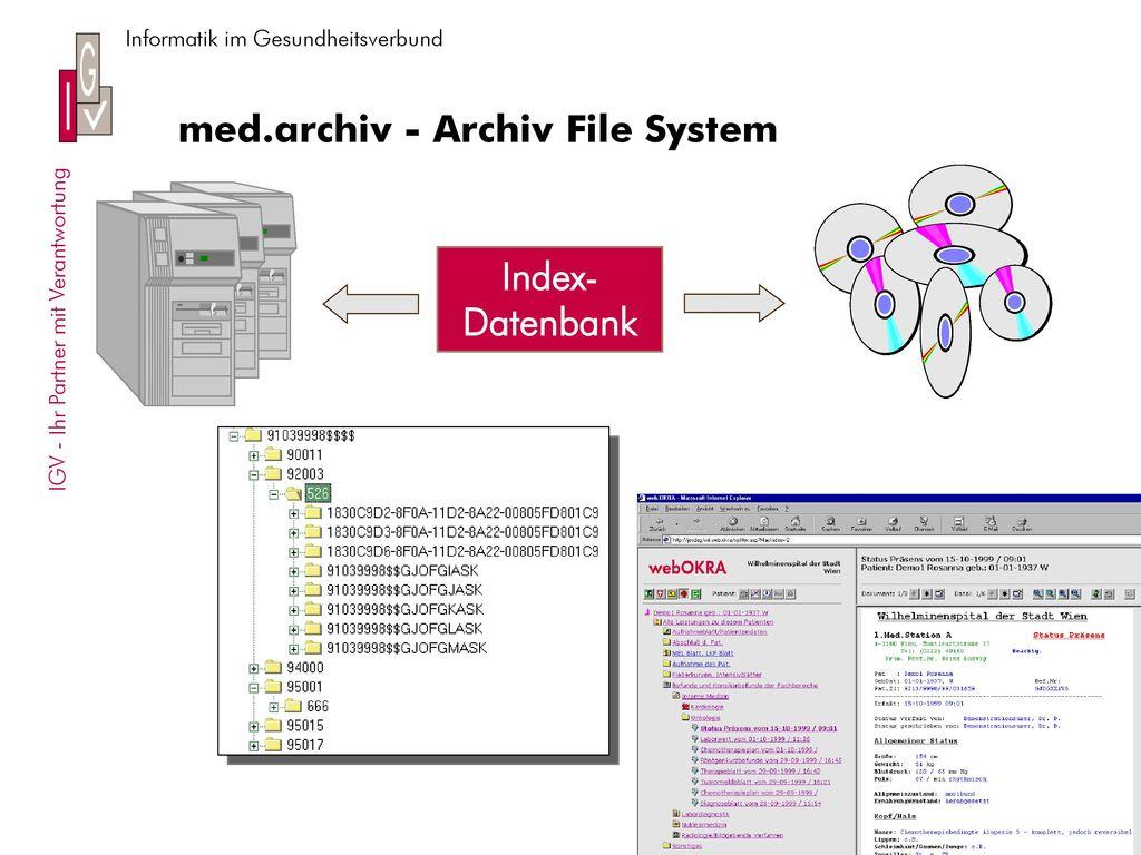 med.archiv - Archiv File System