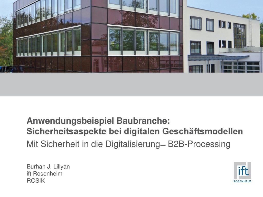 Mit Sicherheit in die Digitalisierung ̶ B2B-Processing