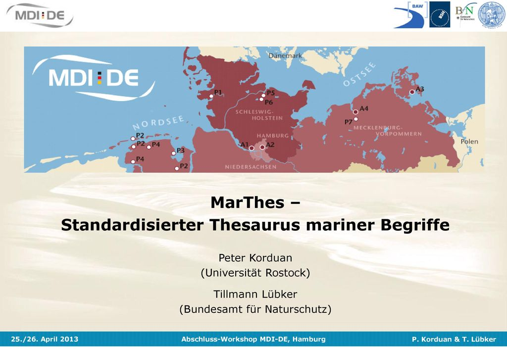 MarThes – Standardisierter Thesaurus mariner Begriffe