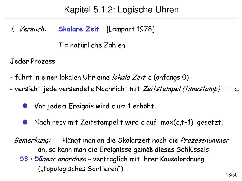 Kapitel 5.1.2: Logische Uhren