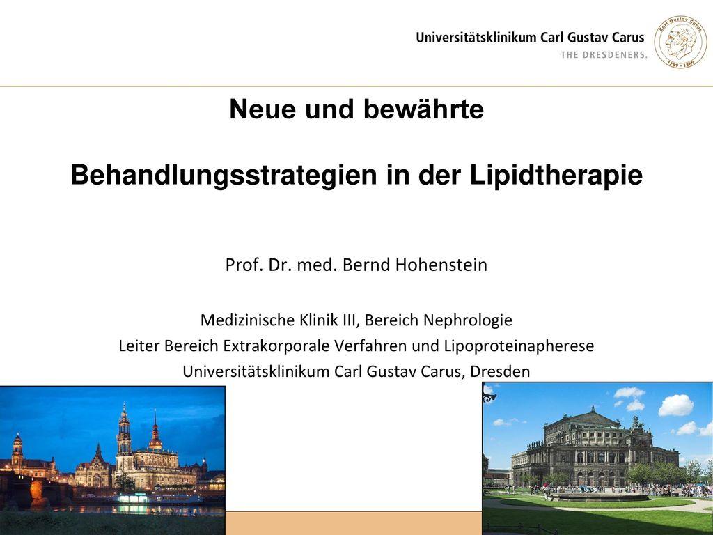 Neue und bewährte Behandlungsstrategien in der Lipidtherapie