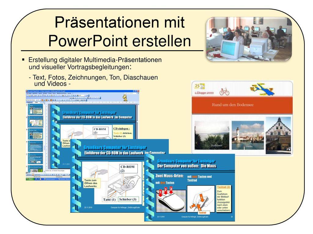 Präsentationen mit PowerPoint erstellen