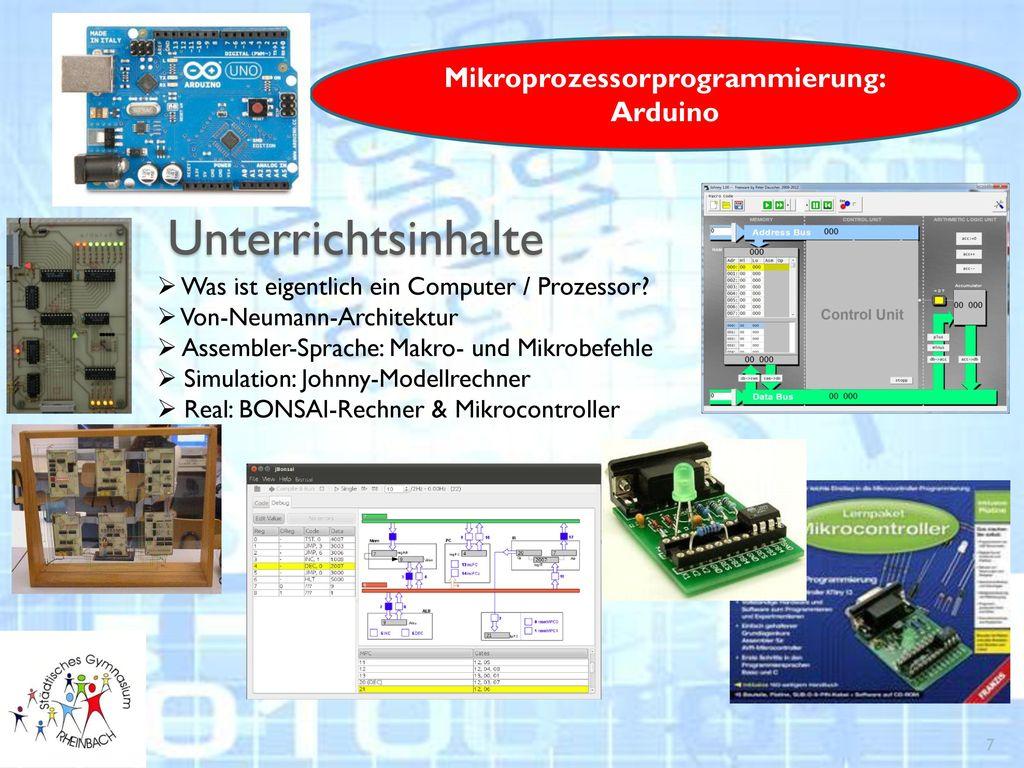 Mikroprozessorprogrammierung: