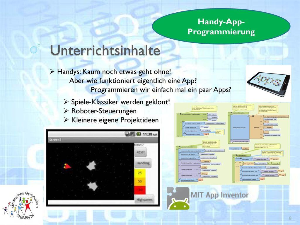 Handy-App-Programmierung