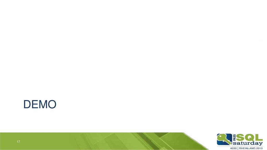 Demo Steps: Leeres Web Projekt erstellen