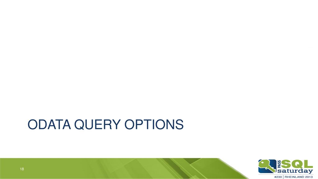 OData Query Options