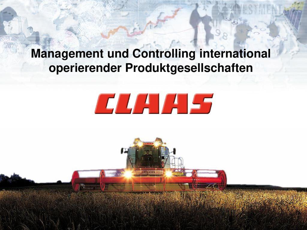 Management und Controlling international operierender Produktgesellschaften