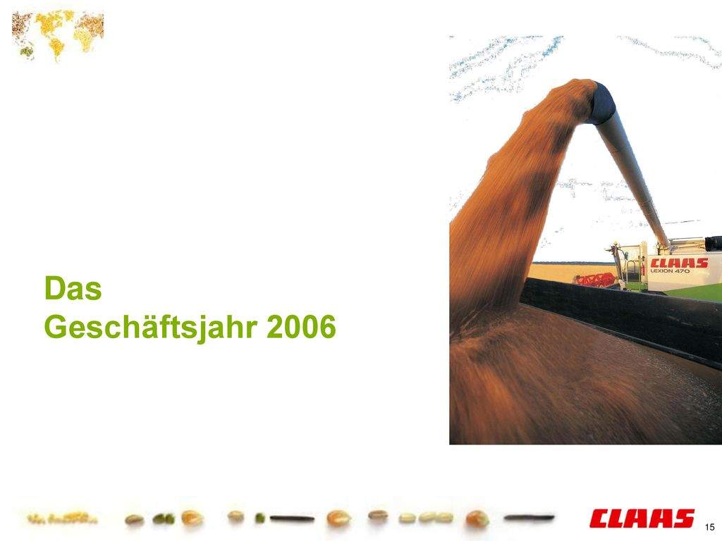 Daten, Zahlen, Fakten Das Geschäftsjahr 2006