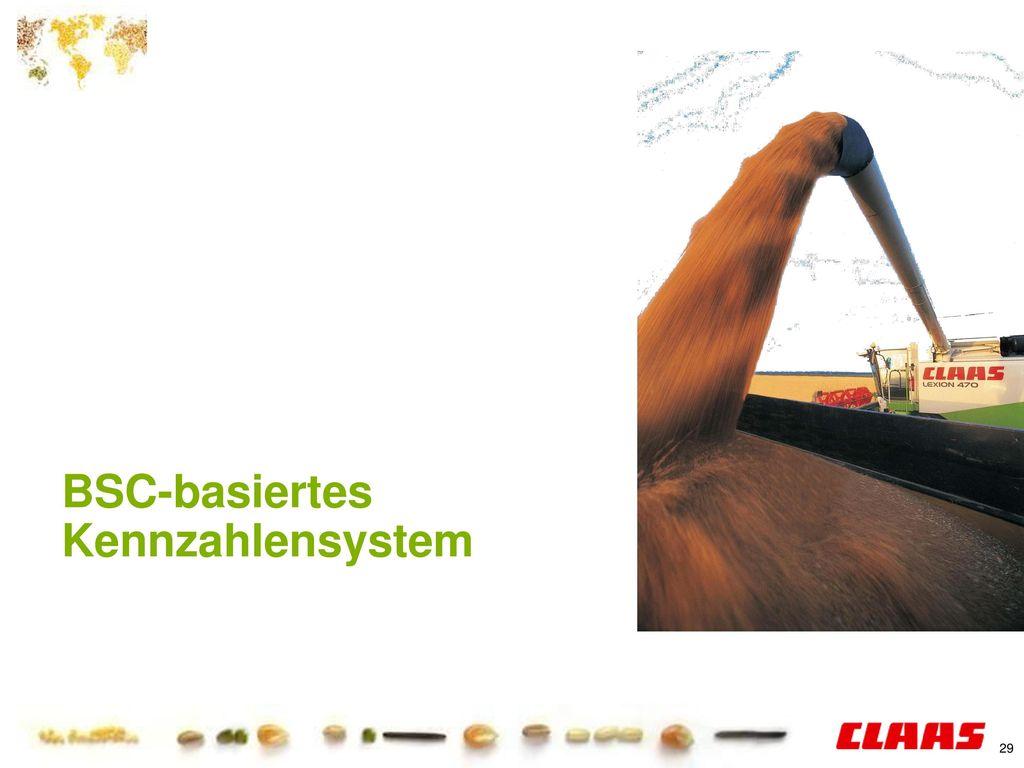 BSC-basiertes Kennzahlensystem