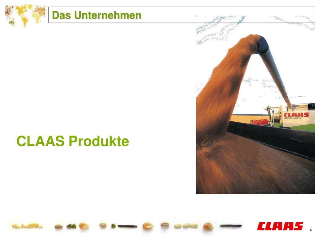 Das Unternehmen CLAAS Produkte