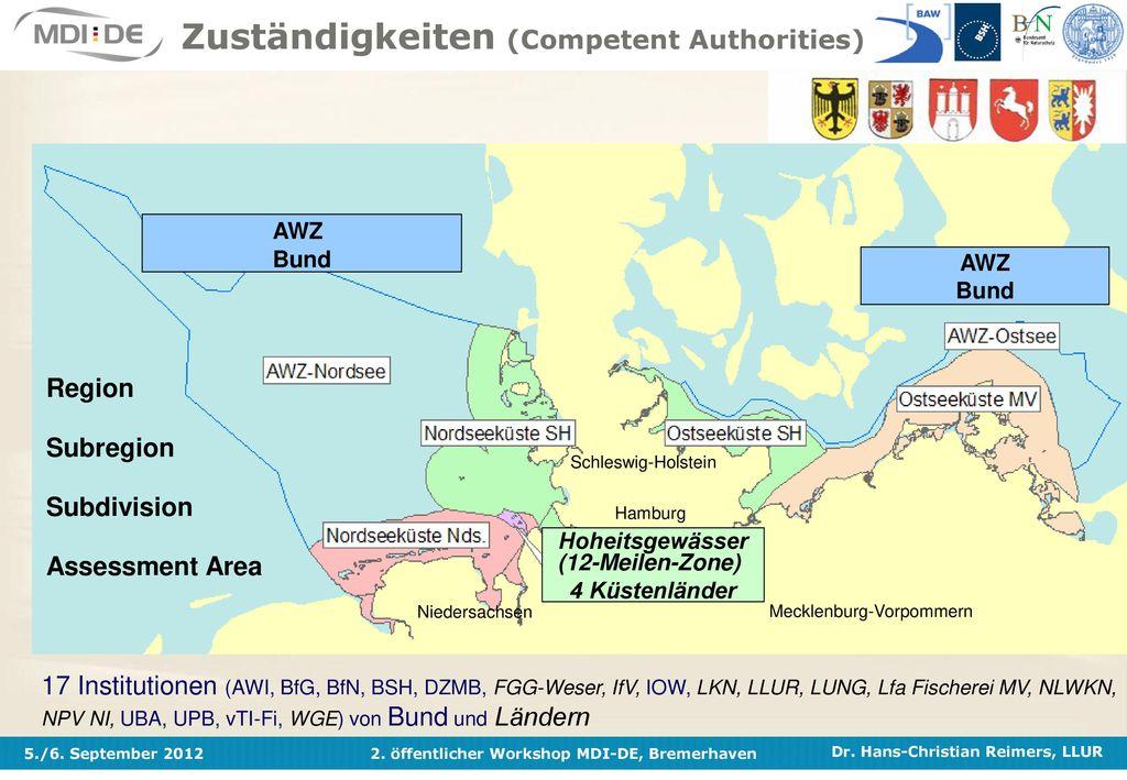 Zuständigkeiten (Competent Authorities)