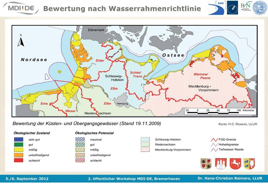 Bewertung nach Wasserrahmenrichtlinie