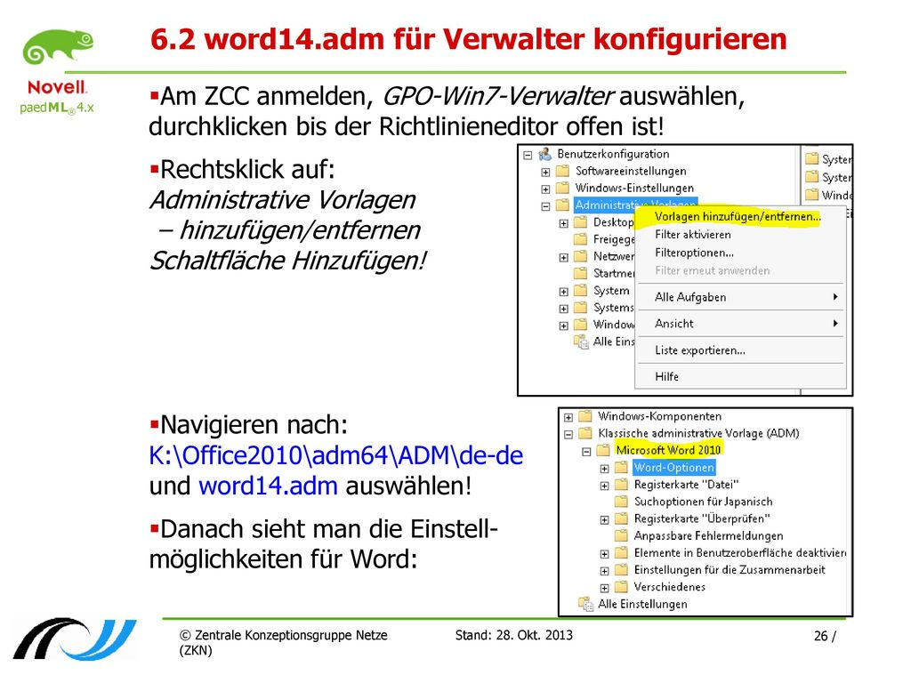 Niedlich Administrative Vorlagen Für Gruppenrichtlinien ...