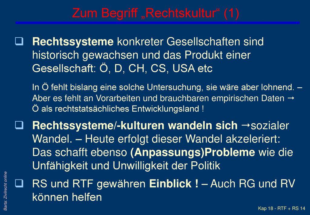 "Zum Begriff ""Rechtskultur (1)"