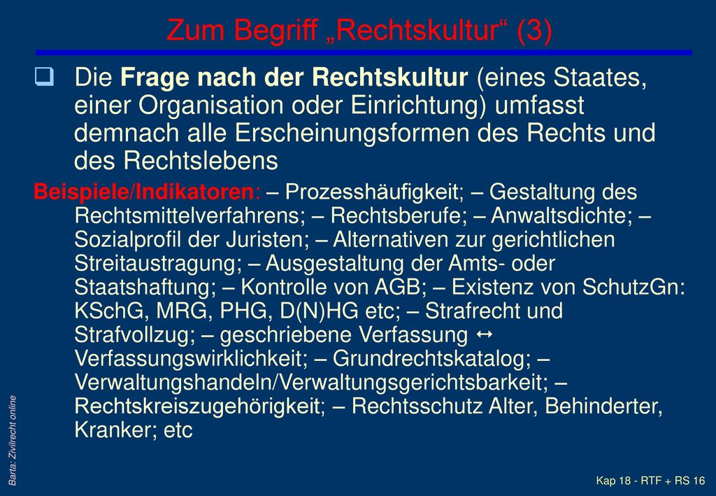 "Zum Begriff ""Rechtskultur (3)"