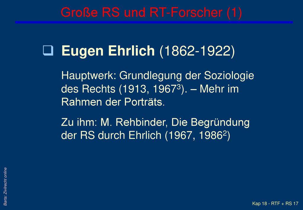 Große RS und RT-Forscher (1)