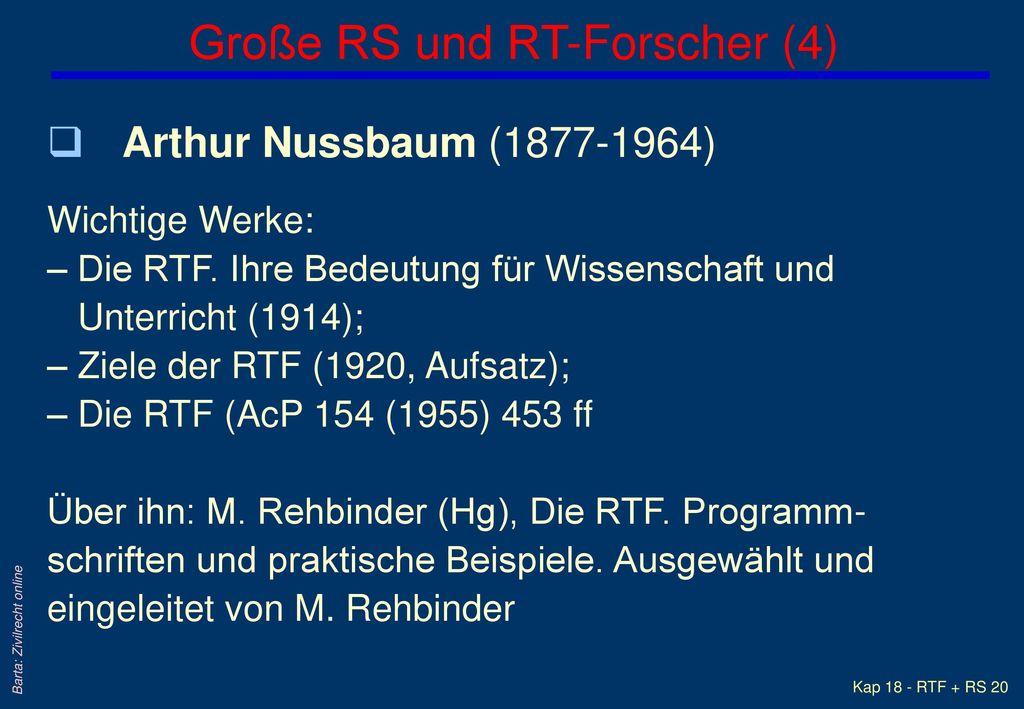 Große RS und RT-Forscher (4)