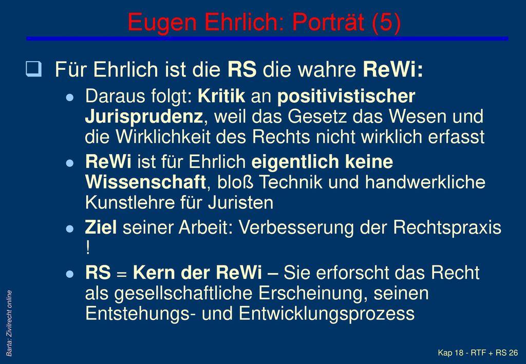 Eugen Ehrlich: Porträt (5)
