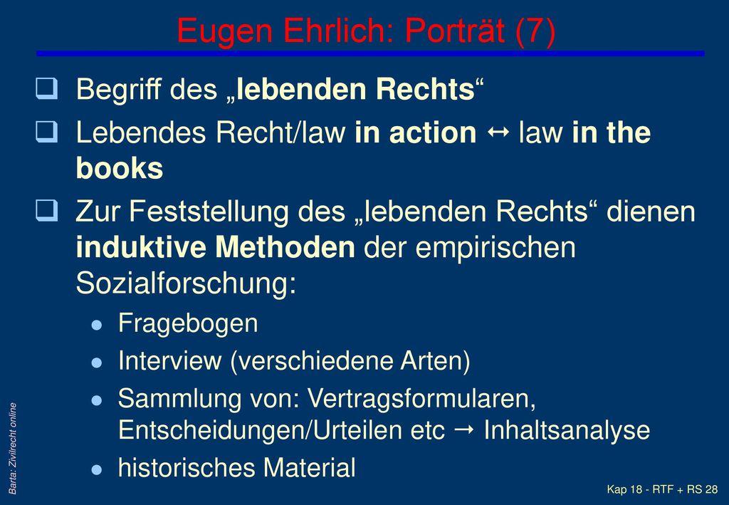 Eugen Ehrlich: Porträt (7)