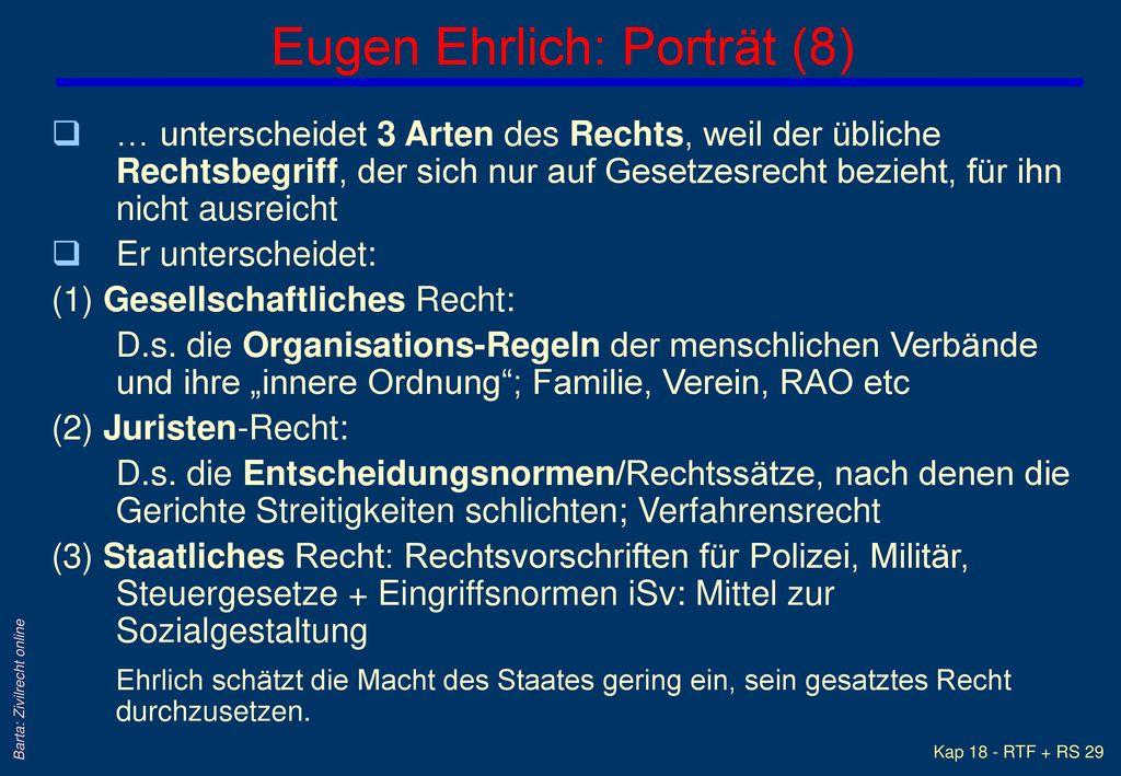 Eugen Ehrlich: Porträt (8)
