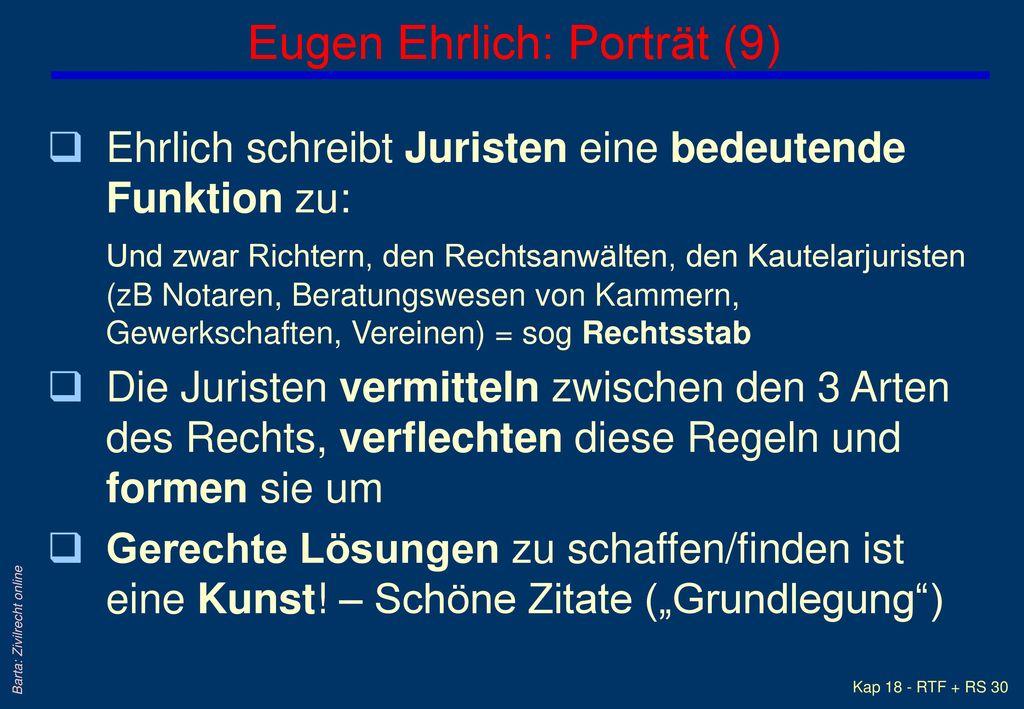 Eugen Ehrlich: Porträt (9)
