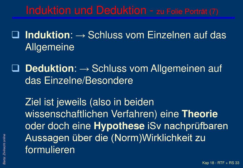 Induktion und Deduktion - zu Folie Porträt (7)