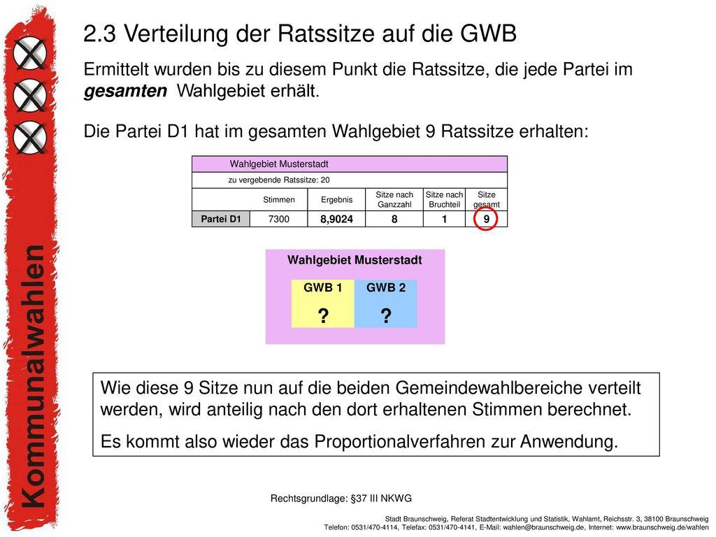 Rechtsgrundlage: §37 III NKWG