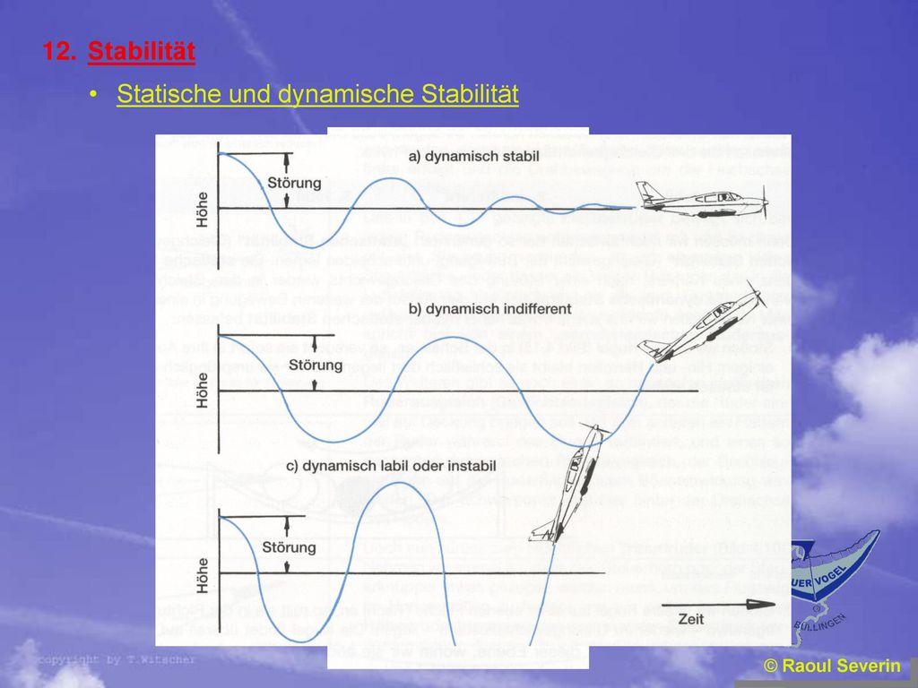 Statische und dynamische Stabilität