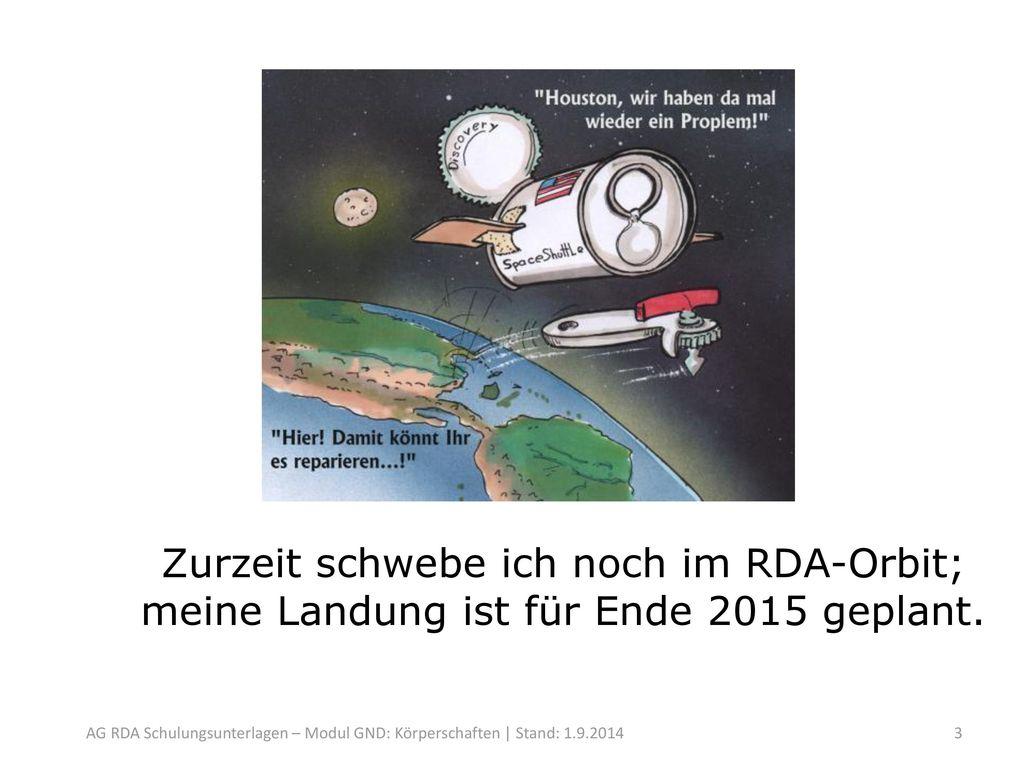 GND-Anwendung der RDA -> Erkundungsflug