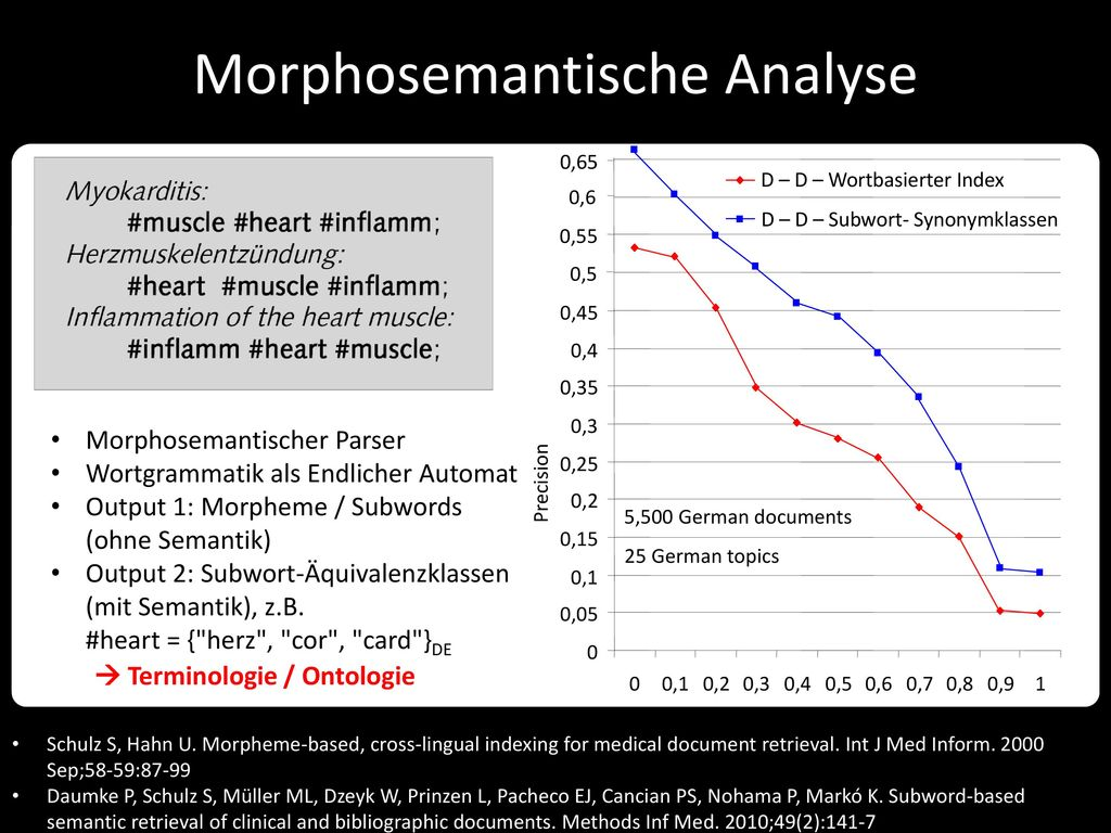 Morphosemantische Analyse